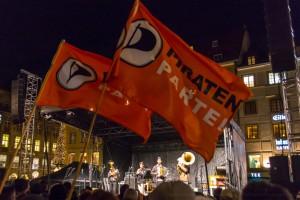 Piraten auf dem Max-Joseph-Platz | CC BY Klaus P. Segatz