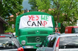 Yes we camp – Protestcamp zum G7-Gipfel | CC BY 4.0 Michael Renner